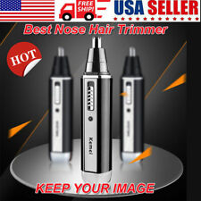 Hair Remover Trimmer Groomer Men Personal Ear Nose Neck Eyebrow USB Rechargeable