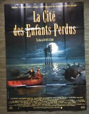 The City Of Lost Children Vintage French Poster Movie Theater Promo Pin-up 1990s