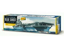 Lindberg 436 WWII USS LEXINGTON BLUE GHOST AIRCRAFT CARRIER model kit 1/525