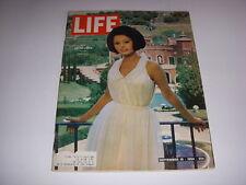 LIFE Magazine, September 18, 1964, SOPHIA LOREN COVER, PHOTOS OF HER VILLA!