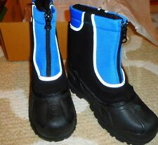 Winter Boots Itasca Boys Girls Kids Youth 6 Snow Stomper Reflective Black Blue