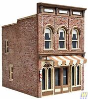 WALTHERS CORNERSTONE HO SCALE 1/87 VIC'S BARBER SHOP KIT | BN | 933-3471