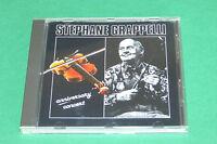 """CD STÉPHANE GRAPPELLI """"ANNIVERSARY CONCERT"""" 12 TITRES, EN PUBLIC / TRÈS BON ÉTAT"""