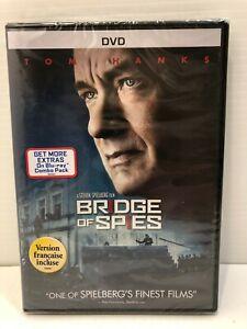 Bridge of Spies (DVD, 2016, Canadian, bilingual) NEW