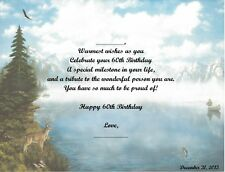 60th Birthday Gift, Or Any Age, Personalized Poem Gift, #4