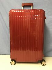 "Rimowa Salsa 29"" Inch Deluxe Multiwheel Packing Case Red Luggage Nice"