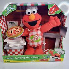 2007 Fisher-Price SINGING PIZZA 🍕 ELMO *SESAME STREET* NEW In BOX