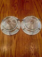 1957 Plymouth Parking Light Lens Pair Mopar NOS PLYBG
