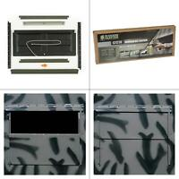 silent shadow gun window kit (pack of 2) | hunting hard sided wall blinds quick
