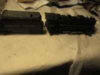 Lionel 2026  2-6-4 Locomotive with 6066T Tender with boxed, post war