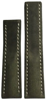 22x18 XL RIOS1931 for Panatime Olive Vintage Watch Strap For Breitling Deploy