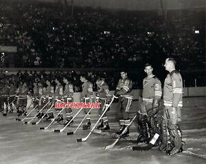 NHL Season Opener St.Louis Blues 1967 Black & White 8 X 10 Photo Picture