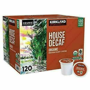 Kirkland Signature House Decaf Coffee, 120 K-Cup Pods