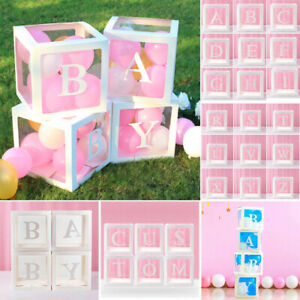 12'' Transparent Gift Boxes Balloon Packing Baby Shower Wedding Birthday Decor