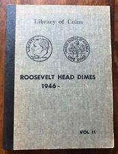 VINTAGE LIBRARY of COINS ROOSEVELT DIMES ALBUM, vol. 11  1946-71  - NO COINS