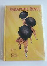 Parapluie Revel Hardcover Journal Paris French Umbrella Dancing Yellow NIP New