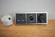 CBE Triple, 240v Socket, 12v Socket, 12v Double USB, for Campervan/Motorhome