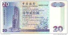 HONG KONG 20 DOLLARS 1994 P-329a UNC [HK801a]
