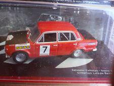 1/43 SEAT 124 / 1600 CRITERIUM DE BAVIERA 1972 IXO ALTAYA NEUVE boîte d'origine