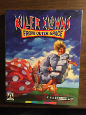 Killer Klowns From Outer Space Blu-ray With FYE Slipcover