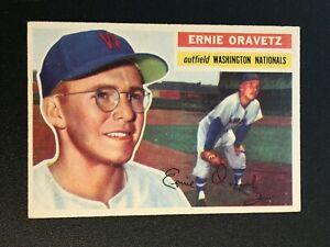 F64271  1956 Topps #51 Ernie Oravetz RC NATIONALS