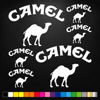 Compatible CAMEL 12 Stickers Autocollants Adhésifs  Moto Voiture Sponsor Marques