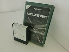 Artillery Duel Game Colecovision WITH Torn label Cartridge & INSTRUCTIONS N25
