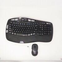 Logitech Wireless Wave Combo K350 Y-R0053 Keyboard M510 Mouse + Receiver