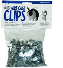 Wire Cage Clips J Clips for Pets - 1 lb pkg Repair of cages pens traps or fences