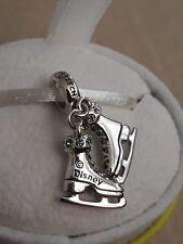 *SALE* Genuine CHAMILIA 925 Sterling Silver Disney Frozen Sisters Skates RRP £45