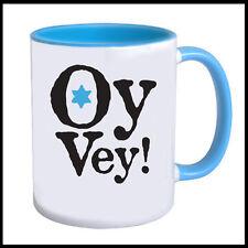 Oy Vey Mug with a Jewish Star