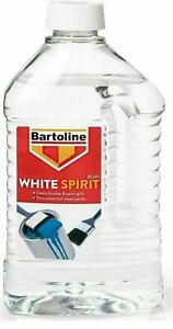 Bartoline White Spirit - 2 Litre - Brush Cleaner Thinning Solvent High Quality