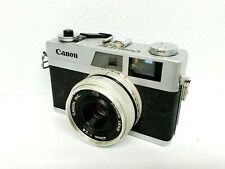 Canon Canonet 28 35mm Rangefinder Camera Mf 40mm f/2.8