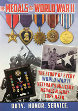 THE US MILITARY MEDALS OF WORLD WAR II New Sealed 2017 HISTORY & DOCUMENTARY DVD