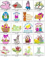 520+ EASTER BROTHER EMBROIDERY MACHINE DESIGN COLLECTION SET ON CD