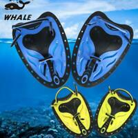1Pair Swimming Flippers Hand Fins Swim Webbed Glove Diving Scuba Fins Paddles SD