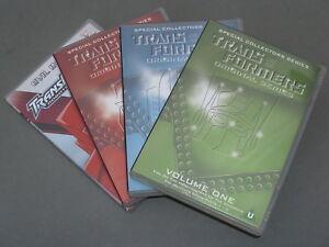 CLASSIC TRANSFORMERS ORIGINAL SERIES VOLUME 1 + 2 + 3 + EVIL INTENT (DVDS)