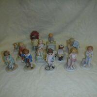 Set of 12 BESSIE PEASE GUTMANN Porcelain Children Figurines
