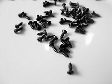 50 BLACK OXIDE  PICKGUARD SCREWS TO REPLACE GIBSON SG FIREBIRD MELODY MAKER ,BA