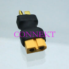 XT60 Female to T-Plug Deans Male No wire adapter For Car Lipo Battery