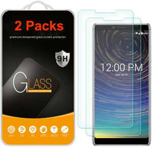 2 PACK For CoolPad Legacy 2019 Full Edge Cover Tempered Glass Screen Protector