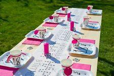 TischBox  18. Geburtstag Pink / 55 teilig / Geburtstagsdeko /Geburtstagsset