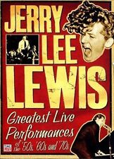 NEW Jerry Lee Lewis: Greatest Live Performances of the 50s, 60s and 70s (DVD)