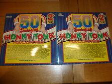 50 SWINGING HONKY TONK FAVOURITES - 1974 UK Double vinyl LP