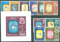 OLYMPIC - DUBAI Yvert # 43/52 + Bl 16 VF