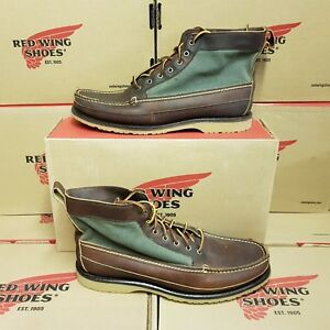 RED WING SHOES 9187 Chukka Canvas men's boots UK 10 US 11 EUR 44,5 (NEUF)