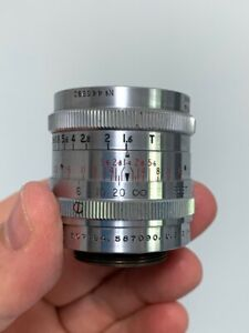 """Taylor Hobson Cooke Ivotal 1"""" f1.4 16mm Movie Camera Lens Angenieux Bolex"""