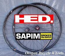 HED Belgium+ Plus 32H DISC BRAKE CX Sapim Race 700c 29 Ardennes+ wheelset 11 spd