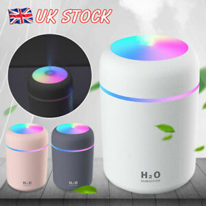 Home Electric Air Diffuser Aroma Oil Humidifier LED Night Light Up Relax Defuser