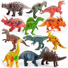 Dinosaur Toys | Dinosaurs Small & Large Assorted Plastic Figures 12 Piece Set, 5